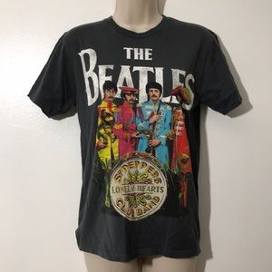 Beatles Sgt. Pepper Lonely Hearts Club Band Sz S